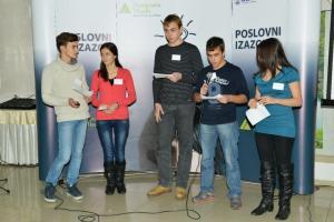 Пословни изазов, Лековац, 5.12.2012.Презентовање рада победничке екипе